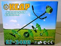 Мотокоса Кедр БГ-3700 + 3 ножа