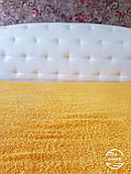 Махровая простынь 150*200 желтая Узбекистан, фото 2