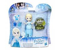 Disney Frozen Маленькая кукла Холодное Сердце с другом «Эльза и Гранд Пабби» B7467