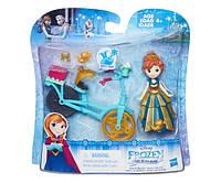 Disney Frozen Маленькая кукла Холодное сердце с аксессуарами «Анна на велосипеде» B5190