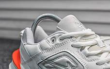 Женские демисезонные кроссовки Nike Тekno белые топ реплика, фото 3