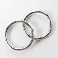 Серьги кольца для пирсинга ушей (козелок, хеликс, трагус)., фото 1