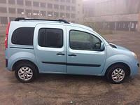 Стекло двери передней левой Renault Kangoo 2008-2012 Рено Кенго