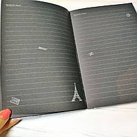 "Блокнот  с черными листами  ""Париж"" А5, фото 1"