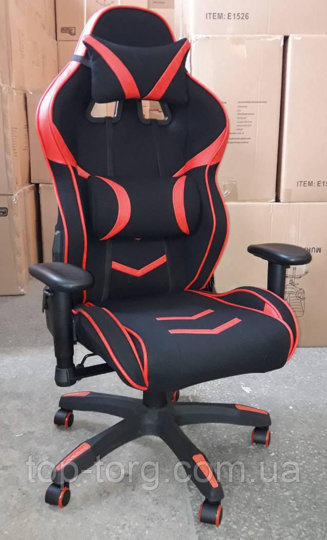Крісло офісне ExtremeRace 2 black/red червоно-чорне