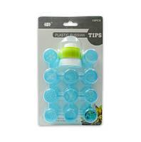 Набор кондитерских насадок для цветов  - 11 шт + адаптер - пластиковые насадки для цветов