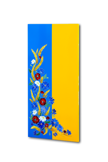 """Керамический дизайн-обогреватель UDEN-S """"Слава Украине"""", фото 1"""