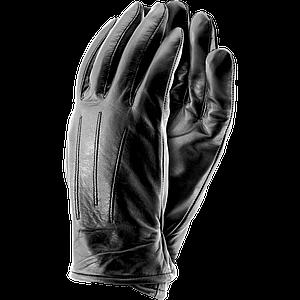 Перчатки защитные RLCOOLER B сделанные с мягкой овечьей кожи, черного цвета . REIS