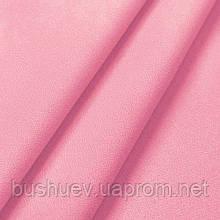 Креп бистрейч однотонный Розовый