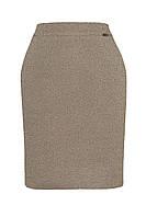 Трикотажная юбка с х/б ниткой и люрексом, разные цвета, 44-50 р-ры, 305/265 (цена за 1 шт. + 40 гр.)