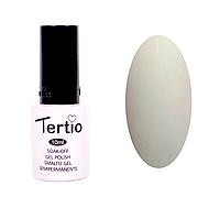 Гель-лак Tertio №050 (серо-белый, эмаль), 10 мл