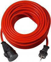 Переноска электрическая 25 метров; AT-N07V3V3-F 3G1,5; красная