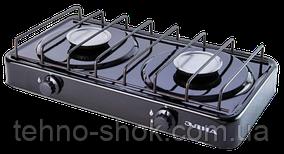 Элна ПГ2 -Н Газовая плита двухконфорочная без крышки
