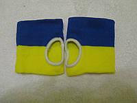 Напульсник тряпичный с символикой Украины