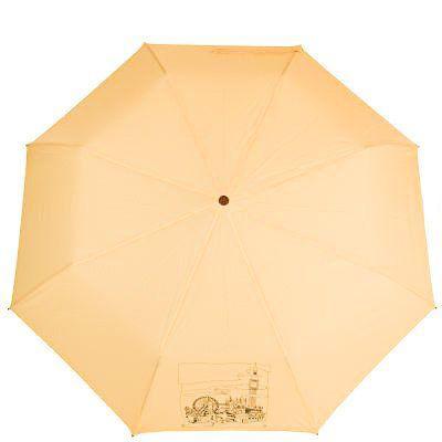 Зонт женский полуавтомат AIRTON (АЭРТОН) Z3631NS-4175, Желтый