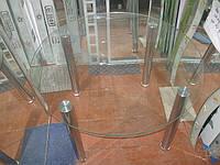 Стол стеклянный диаметр 800мм