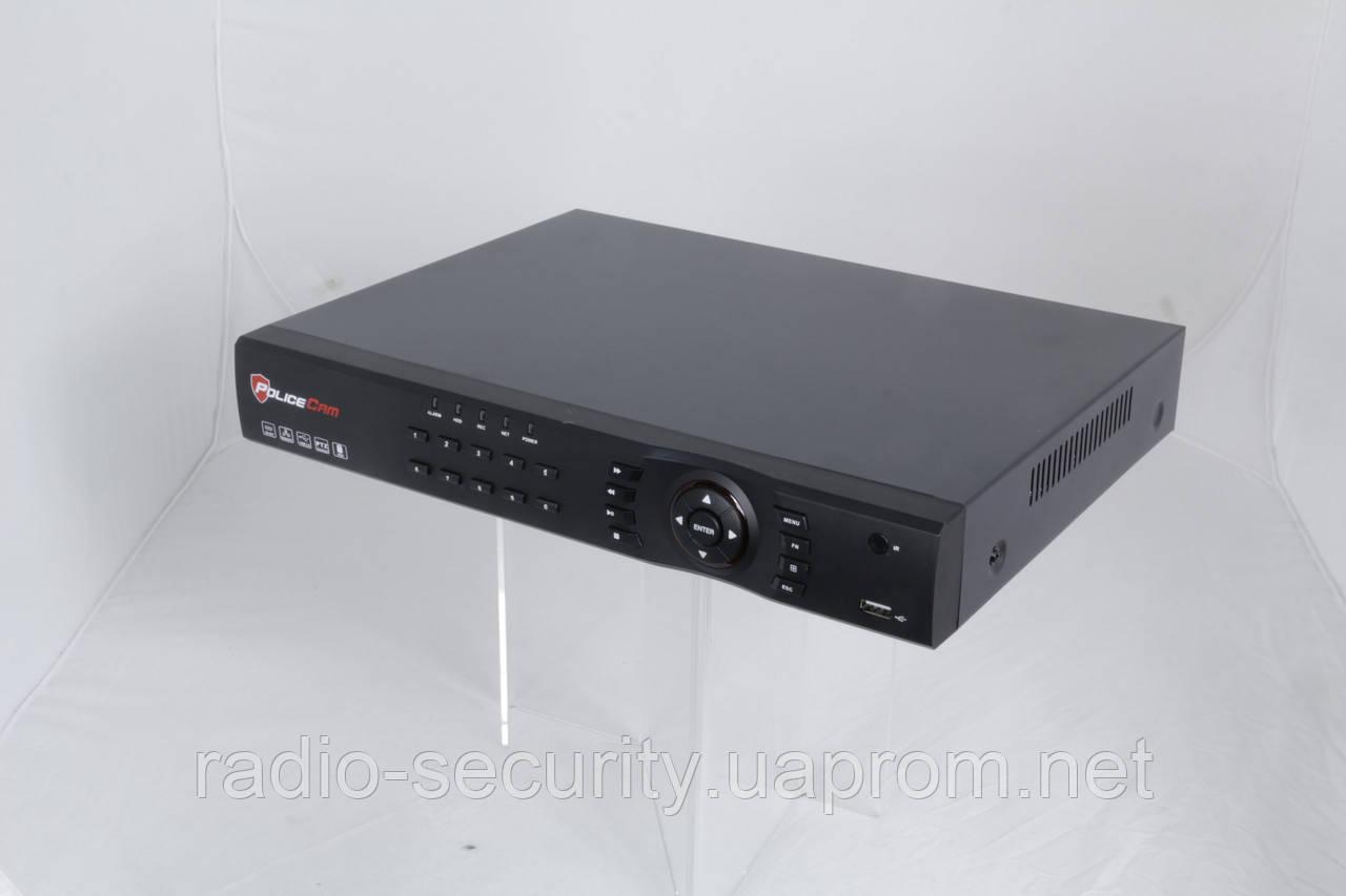 Видеорегистратор гибридный 8 каналов PoliceCam XVR-7108