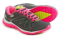 Женские кроссовки для тренировок Fila Memory Resilient 2, 41, серо-розовые