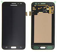 Дисплей для Samsung J320 Galaxy J3 (2016) + touchscreen, черный, оригинал PRC