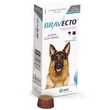 Таблетка от блох и клещей для собак Bravecto 20 - 40 кг