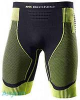 Термошорты X-Bionic Effector Pant Short M черно-зеленый