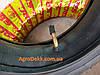 Покрышка на скутер 3.00-8 шоссейная шестислойная +камера, фото 3