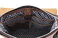 Вертикальная сумка мессенджер Tom Stone из мраморной кожи, фото 6