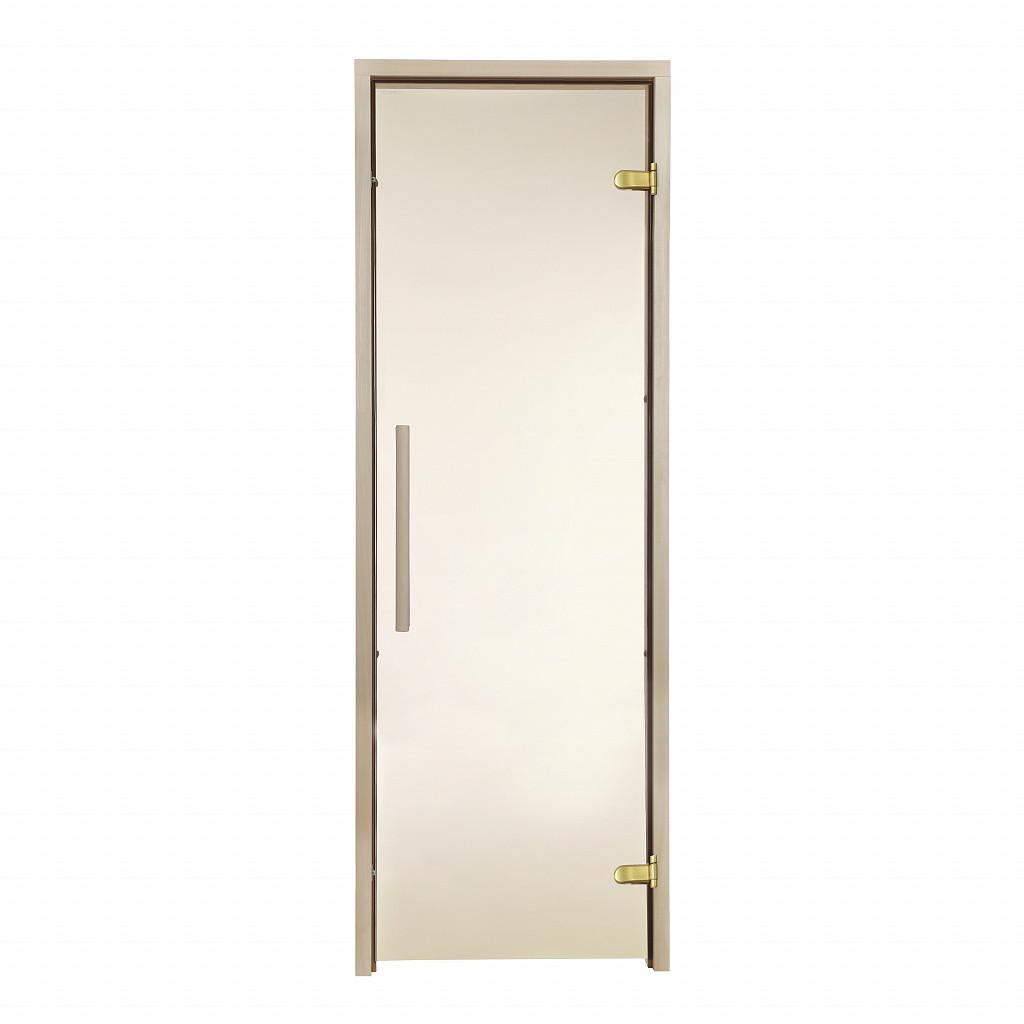 Дверь GREUS Premium сауна 70х190 бронза
