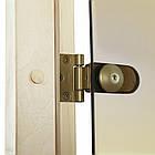 Дверь GREUS Premium сауна 70х190 бронза, фото 4