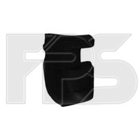 Угольник заднего бампера Iveco Daily (00-11) левый (FPS), фото 2