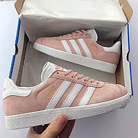 Женские кроссовки Adidas Gazelle (реплика люкс класса 1:1)