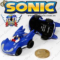 "Мини-машинка - ""Sonic in Car"" - 3 x 5.5 см., фото 1"