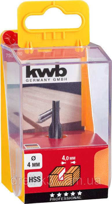Фреза пазовая 6 мм. KWB - фото 3