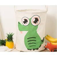 Корзина для игрушек Kidsgarden d-35 cm (crocodile)