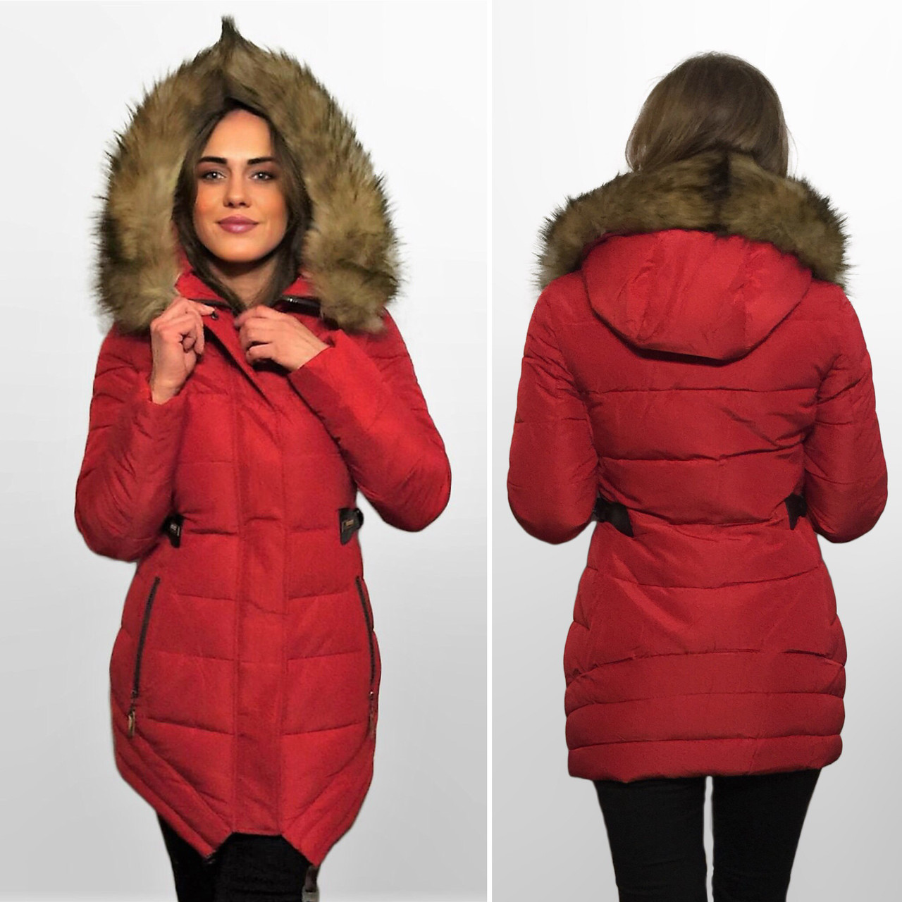 4f032768 Зимняя фабричная куртка-парка Camadini S-XXL Утеплитель тинсулейт -  Интернет Магазин Верхней Женской