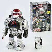 Робот 9184 (18) р/у, звук, свет, стреляет дисками, в коробке