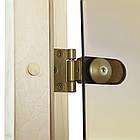 Дверь GREUS Premium сауна 70х190 бронза матовая, фото 4