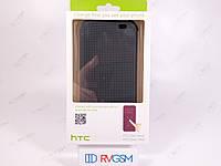 Чохол Dot View для телефону HTC One M8 Сірий Оригінал