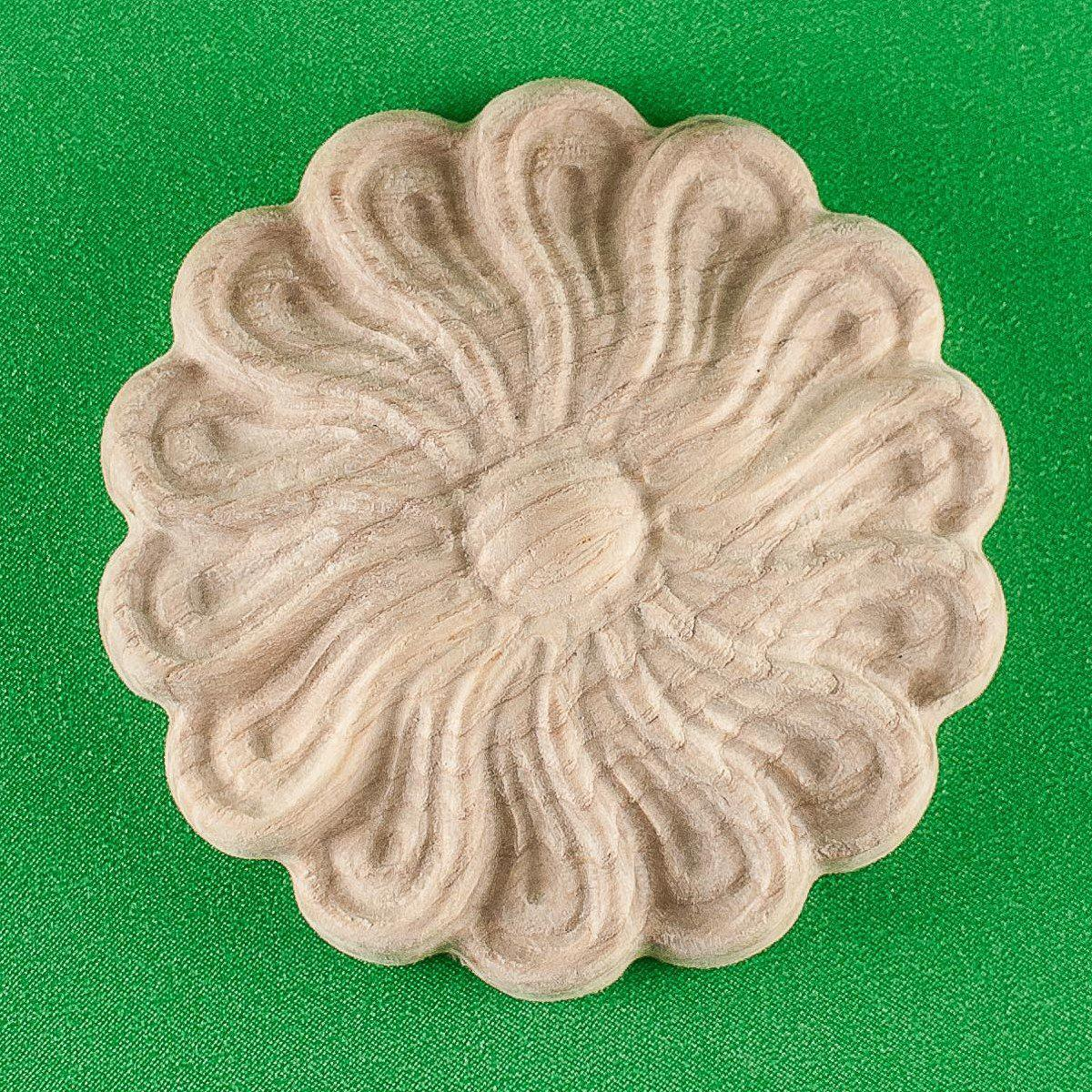 Розетки круглые декоративные для мебели. Код Р14
