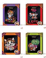 Мозаика из паеток в декоративной рамке, маленькая, ОО-09-03