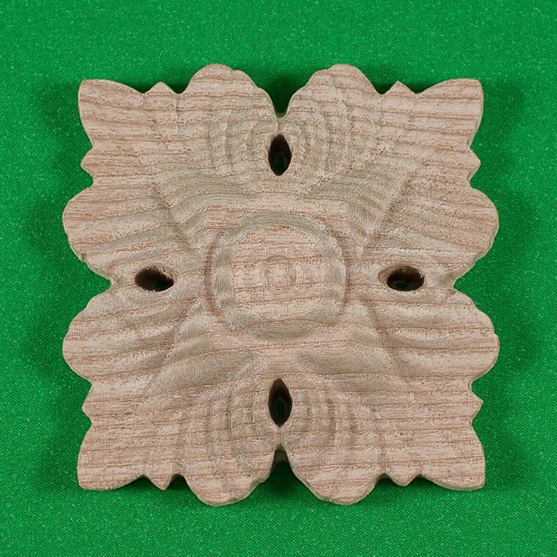Код Р18. Деревянная розетка мебельная