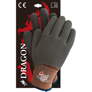Защитные рукавицы WINFULL3 BRS утепленные, проклеенные, покрыты полиэстером. REIS