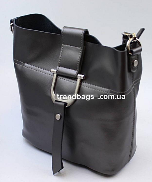 9b91bf6ab865 Женский кожаная сумка клатч 2338 dark gray женские клатчи из натуральной  кожи купить недорого -