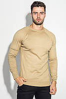 Мужская свитер, джемпер  реглан 498F010 (Песочный)