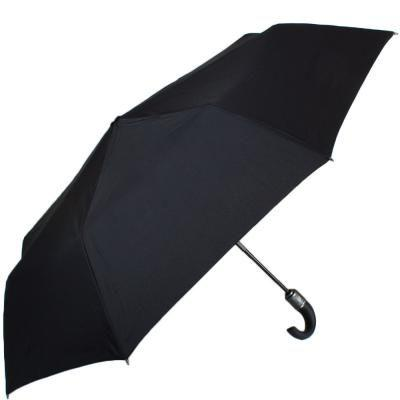 Зонт мужской автомат DOPPLER (ДОППЛЕР) DOP743666, Черный