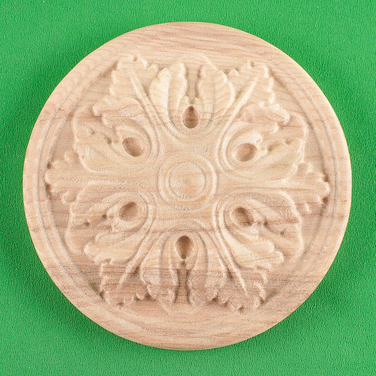 Мебельная накладка Розетка круглая. Код Р40