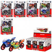 Мотоциклы металлические XY022