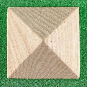 Пирамидка мебельная. Резьба по дереву.  Код Р41