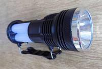 Фонарик аккумуляторный с солнечной панелью Yajia YJ 2881T