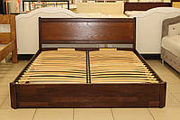 Ліжко 2-х спальне з підйомним механізмом з бука, фото 1